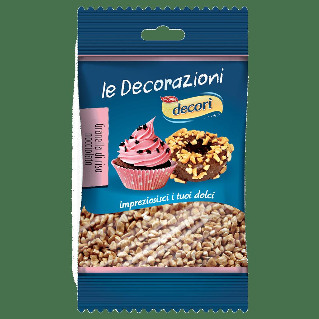 Granelle di riso nocciolato