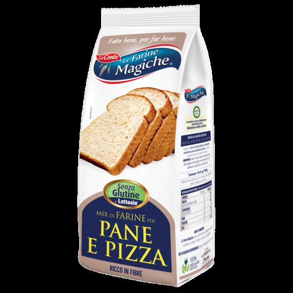 immagine prodotto mix di farine per pane e pizza senza glutine