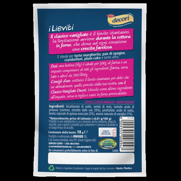Lievito Il Classico Vanigliato - 1 bustina