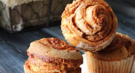 Muffins cinnamons rolls
