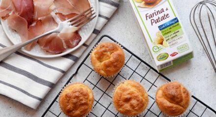 Muffin con farina di patate