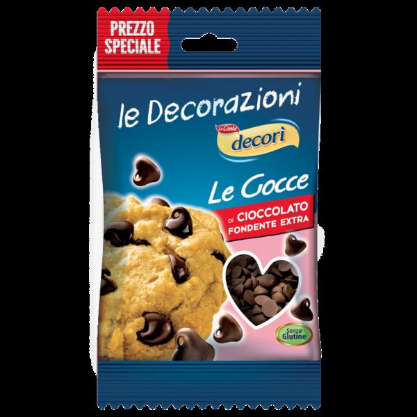 Gocce di cioccolato - FRONTE