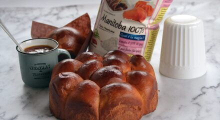 Bouquet di pan brioche