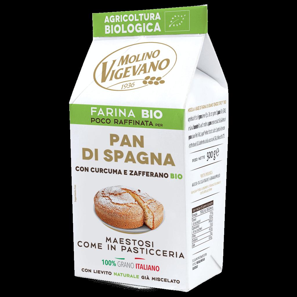 Farina biologica per Pan di spagna