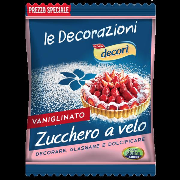 Immagine prodotto frontale zucchero a velo vanigliato