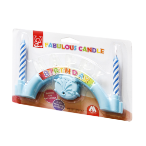 Candeline Happy Azzurre