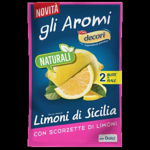 Aroma naturale Limone con limoni di Sicilia